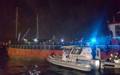 ترکیه ۲۷۶ پناهجوی عمدتاً افغان و ایرانی را از یک کشتی باری بازداشت کرد