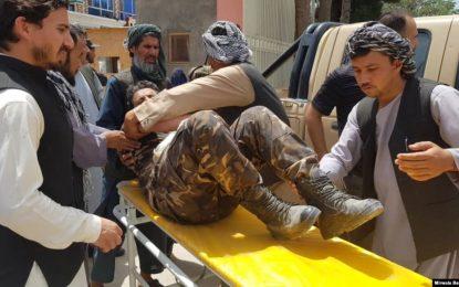 در نتیجه حمله طالبان بر ریاست امنیت ملی سمنگان ۶۰تن کشته و زخمی شده اند