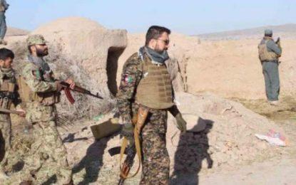 فرمانده پولیس هرات در درگیری با طالبان در ولسوالی پشتون زرغون زخمی شده است
