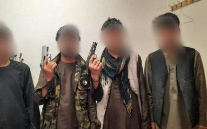 بازداشت ۳۳ تن به اتهام ارتکاب جرایم جنایی طی یک هفته در کابل