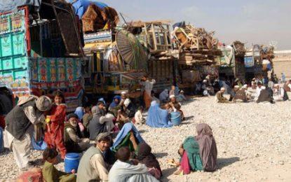 بیش از ۵ هزار خانواده در اثر درگیری ها در ولایت هلمند آواره شدند