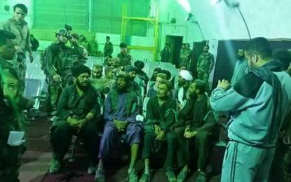 نیروهای ویژه اردوی ملی کشور ۱۵ تن را در هلمند از زندان طالبان رها کردهاند