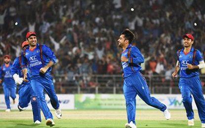 تیم ملی کرکت کشور به دنبال دومین پیروزی مقابل تیم ملی کرکت بنگلهدیش