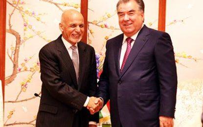 رییس جمهور غنی و رؤسای جمهور تاجیکستان و ازبیکستان با هم دیدار کردند