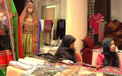 یک مرکز بازاریابی برای فراوردههای زنان افغان در آسیای میانه ایجاد خواهد شد