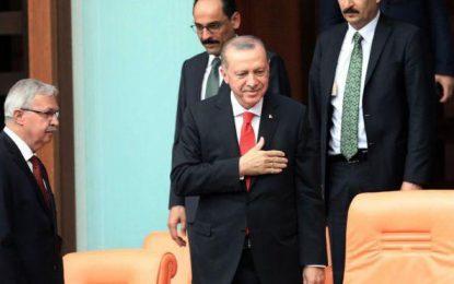 آغاز دوره تازهای رییس جمهوری در ترکیه