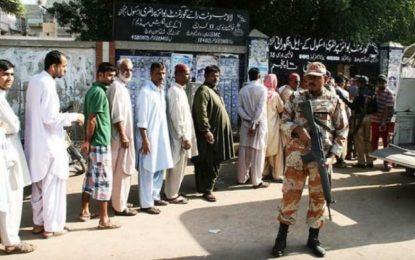 برگزاری انتخابات پارلمانی در پاکستان