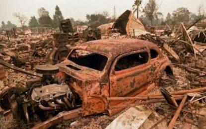 اعلام  وضعیت اضطراری در ایالت کالیفورنیا در پی گسترش آتشسوزی در این ایالت