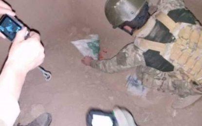 نیروهای قطعات خاص پولیس در قندهار ۴۰۰ کیلوگرام مواد انفجاری را کشف و خنثی کردند