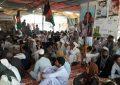 دهها تن از مردم نیمروز در اعتراض به ناامنیها در این ولایت خیمه تحصن بر پا کردهاند
