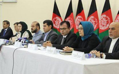 کمیسون انتخابات فهرست نهایی نامزدان انتخابات پارلمانی کشور اعلام نمود