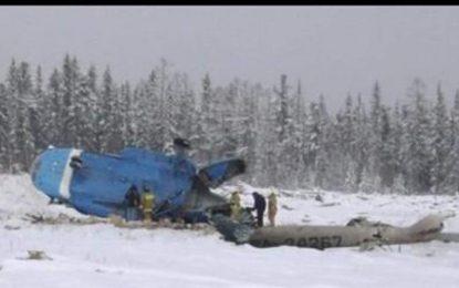 در پی سقوط یک هلیکوپتر در روسیه، ۱۷ تن جان باختهاند