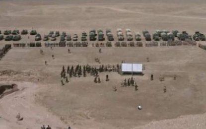 ارتش روسیه در مرز کشور  با تاجکستان مانور نظامی برگزار میکند