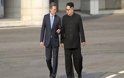 یک هیات از کوریای جنوبی عازم کوریای شمالی شده است