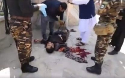 نیروهای امنیت ملی یک مهاجم انتهاری را در شهر کابل از پای در آوردند