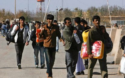 افزایش ۴۵ درصدی برگشت مهاجران افغان از ایران