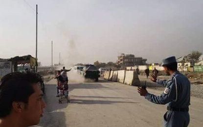 یک مهاجم انتحاری در کابل پیش از رسیدن به هدف کشته شد