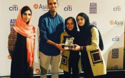 دختران رباتیک کشور یک جایزه بین المللی جدید به دست آوردند