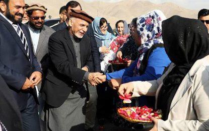 رئیس جمهور غنی در راس یک هیات بلند رتبه دولتی به پروان رفت