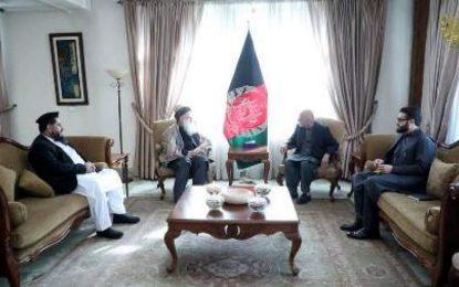 رئیس جمهور با شمای از رهبران جهادی در مورد صلح مشوره کرده است