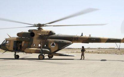 یک چرخبال نیروهای امنیتی در قندهار سقوط کرده است
