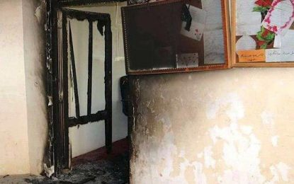 طالبان یک مکتب را در فراه آتش زدند