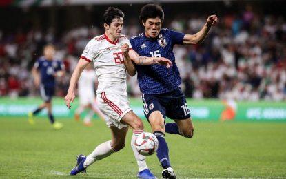 ایران مقابل جاپان در جام ملتهای آسیا با سه گل تحقیر شد