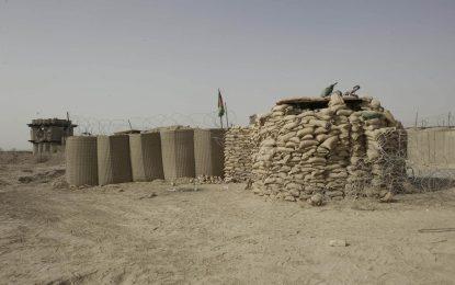 یک پوسته پولیس در حومه شهر فراه به دست طالبان سقوط کرده است