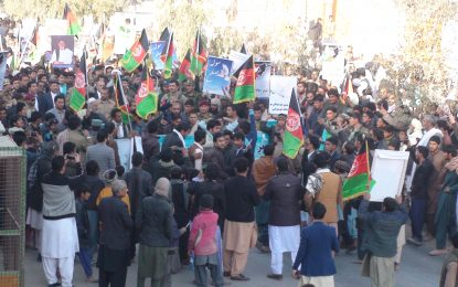 نیمروزیان با راهاندازی راهپیمایی بزرگ از تلاشهای صلح حمایت کردند