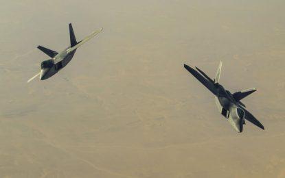 جنگندههای امریکایی مواضع ارتش سوریه را هدف قرار داده است