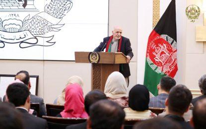 رئیس جمهور از مداخله روسیه، ایران و پاکستان در امور کشور به تندی انتقاد کرد