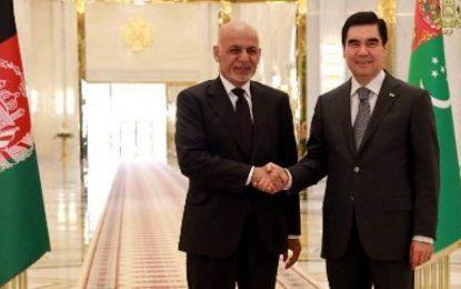افغانستان و ترکمنستان قرارداد استراتژیک امضا میکنند