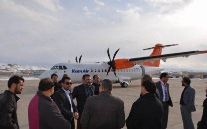 پروازهای شرکت هوایی کامایر به غور پس از توقف یک ساله دوباره آغاز میشود