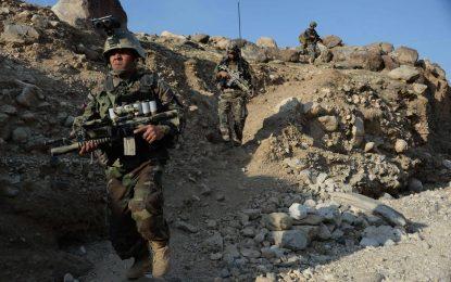 نیروهای ویژه ارتش ۱۰ طالب را در بادغیس از پا در آوردند