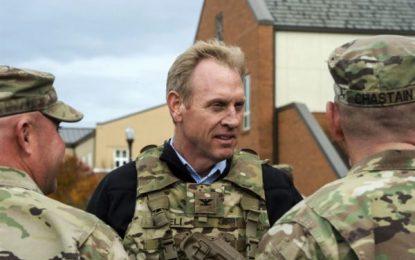 سرپرست وزارت دفاع امریکا وارد افغانستان شد