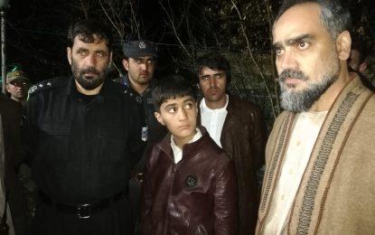 یک کودک از چنگ آدم ربایان در هرات آزاد شد
