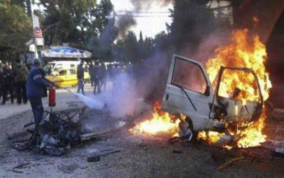 انفجار در ادلب سوریه جان ۸ تن را گرفت
