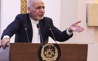 اشرف غنی: رئیس جمهور جدید تا ۳ هفته دیگر مشخص میشود