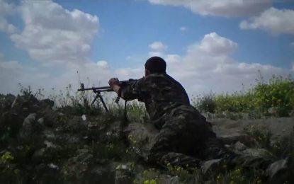 تلاش نیروهای دموکراتیک سوریه برای تصرف آخرین پایگاه داعش در این کشور