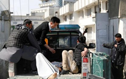 حمله بر مراسم یاد بود از شهادت عبد العلی مزاری در کابل