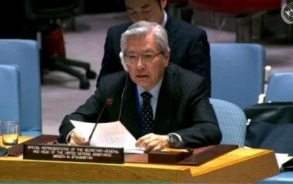 سازمان ملل خواستار آغاز فوری گفتگوهای مستقیم میان حکومت و طالبان شد