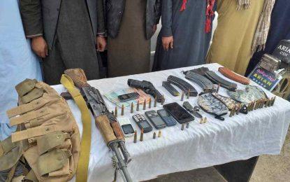 یک گروه ۷ نفری سارقان مسلح در فراه بازداشت شد