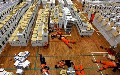 کار سنگین شمارش آرا در اندونزیا ۹۲ نفر را کشت