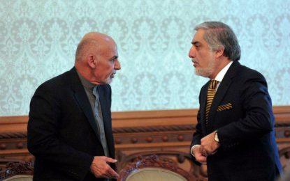 رئیس جمهور با رئیس اجرائیه در مورد لویه جرگه مشورتی صلح دیدار میکند