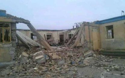 طالبان در فراه یک مکتب دخترانه را انفجار داده است