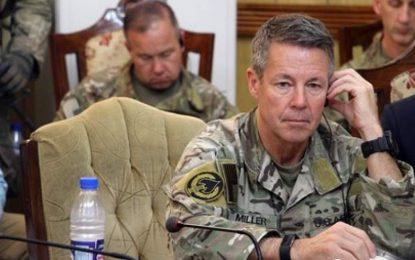 فرمانده نیروهای امریکایی با نمایندگان طالبان در قطر دیدار کرده است