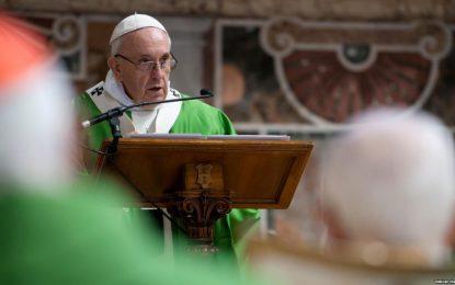 پاپ فرانسییس ۱۰۰ هزار یرو به سیلابزدگان در ایران کمک کرد