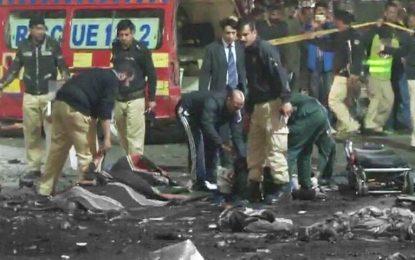 انفجار در لاهور پاکستان سه کشته و ۱۹ زخمی بر جا گذاشت