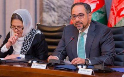 ربانی: در گفتگوهای صلح اصلهای حقوق بشری غیر قابل بحث است
