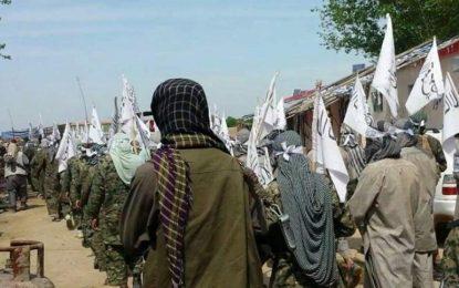 در درگیریها در غور ۲۱ تن از نیروهای خیزش مردمی جان باختهاند